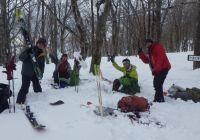 大日ヶ岳山スキー 1月25日