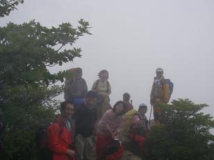 2007年6月3日(日)6月定例山行B  中道・御在所岳(清掃山行)