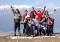2007年3月17日(土)定例山行A  陣馬形山(伊那)