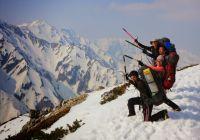 2014年 4月26~27日 唐松岳 自主山行