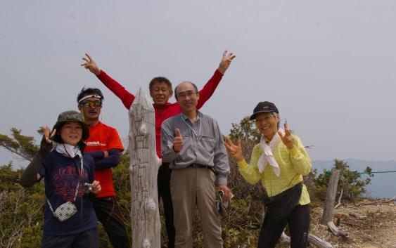 2014年5月26日 白川郷、白山スーパー林道横の三方岩岳