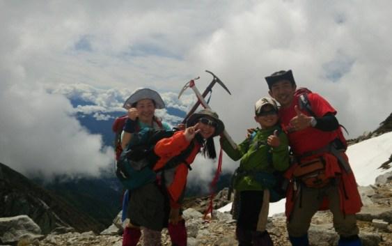 2014年6月8日残雪期歩行訓練 木曽駒ヶ岳(2,956m)