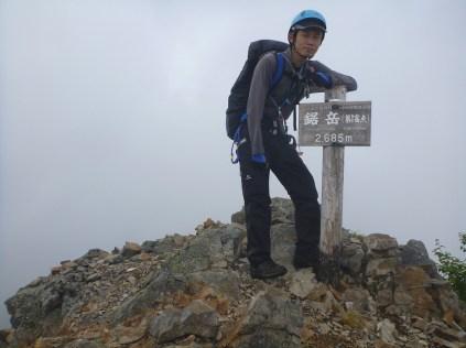 鋸岳(第1高点)