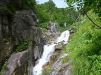3段10m滝