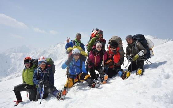 唐松岳(2696m)