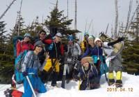 北八ヶ岳 縞枯山(2403m)茶臼山(2384m)