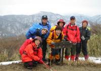 2003年3月 定例山行 B班 水晶岳 (鈴鹿)