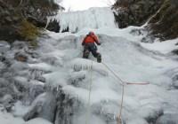 八ヶ岳 南沢大滝 アイスクライミング