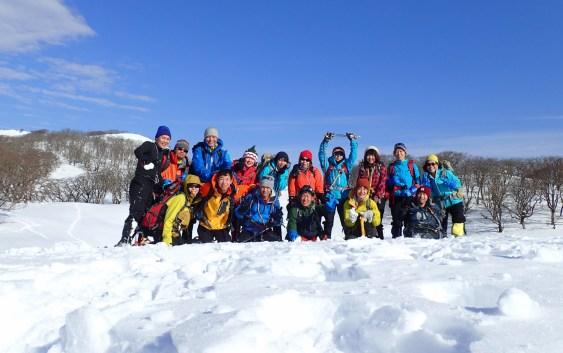 雪山テント泊訓練
