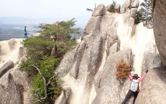 金勝アルプス(鶏冠山490m、竜王山605m)