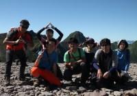 八ヶ岳 西天狗岳(2,646m)、硫黄岳(2,760m)