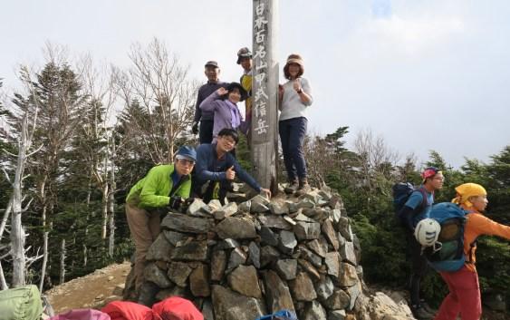 甲武信ヶ岳(2,475m)