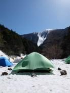 うちのテント。強風でも平気