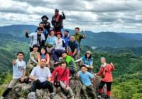 鳳来寺山(695m)