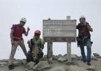 北岳バットレス(3,193m)~白峰三山縦走(2019年夏合宿F)
