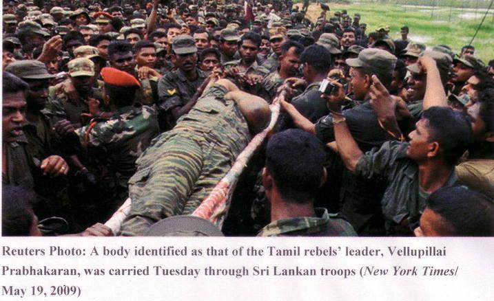 genocide srilanka velupillai prabhakaran