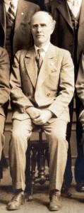 Willis Spaulding in 1931 (Sangamon Valley Collection)
