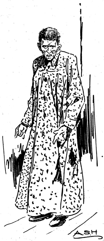 Mentally ill(?) woman-- easily Harkness' most arresting image