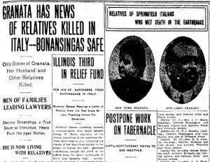 Granata family's tragic news (Illinois State Journal)