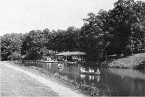 Canoeing in Washington Park, 1920s (SVC_