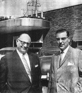 Herman, left, and Richard Cohen, 1960s (SVC)