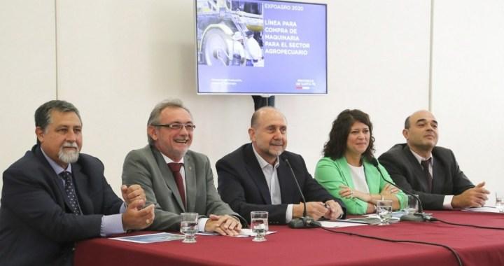 Santa Fe lanzó una línea de crédito para la compra de maquinaria agrícola