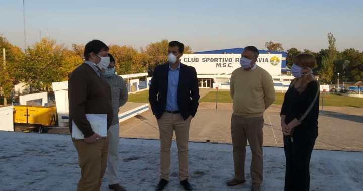 El Senador Diana recorrió los centros de aislamientos en San Genaro y Centeno