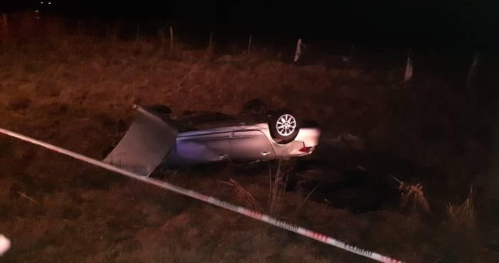 Luto en San Genaro: Dos hermanos fallecieron tras despistar en Ruta 65 entre San Genaro y Diaz