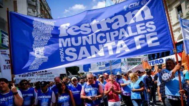 Anunciaron un paro de Municipales en toda la provincia para el jueves