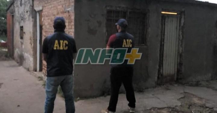 San Genaro: Allanamiento, detención y secuestro de drogas
