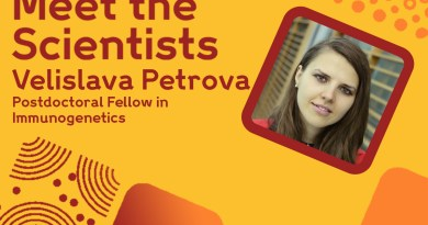 Meet the Scientists: Velislava Petrova