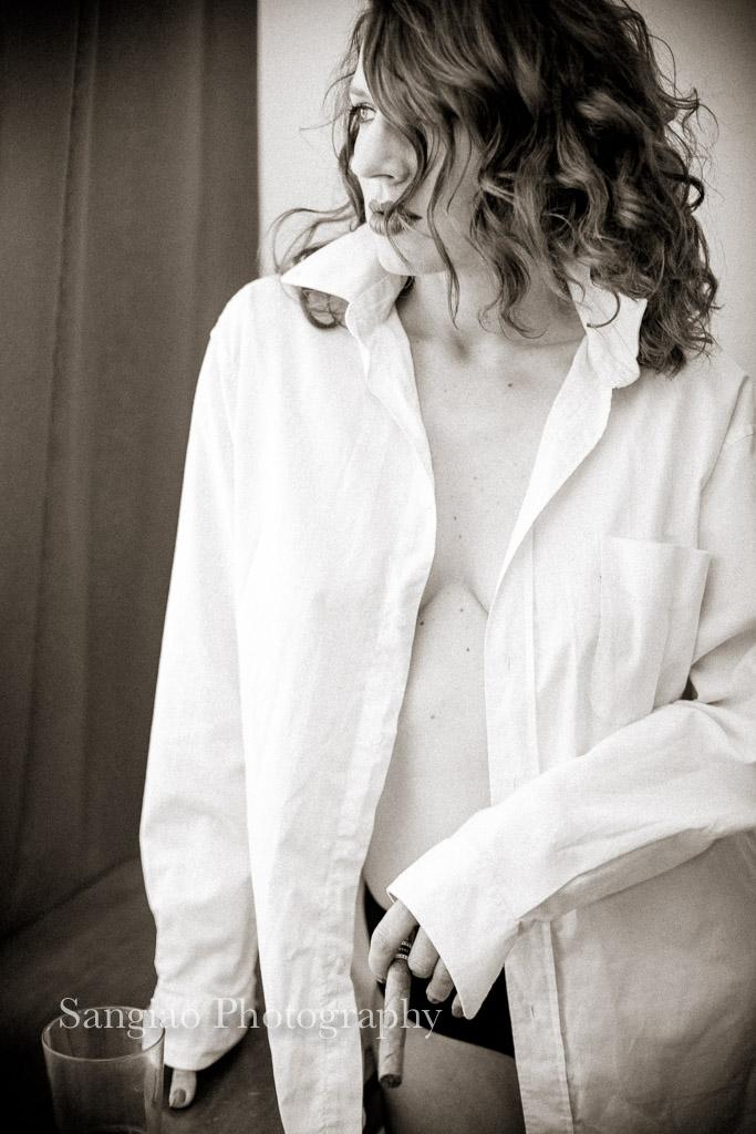 Sesión Boudoir y lencería mujer en Madrid