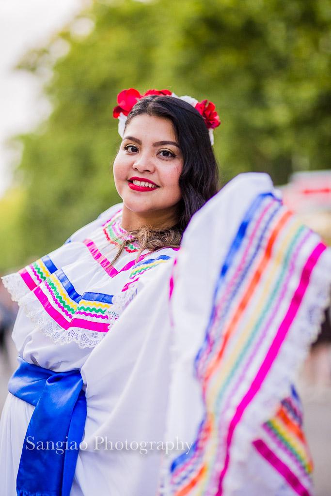 Nicaragua traje y danza tradicional