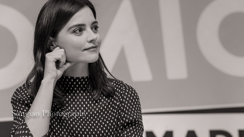 Jenna Coleman comic con Madrid