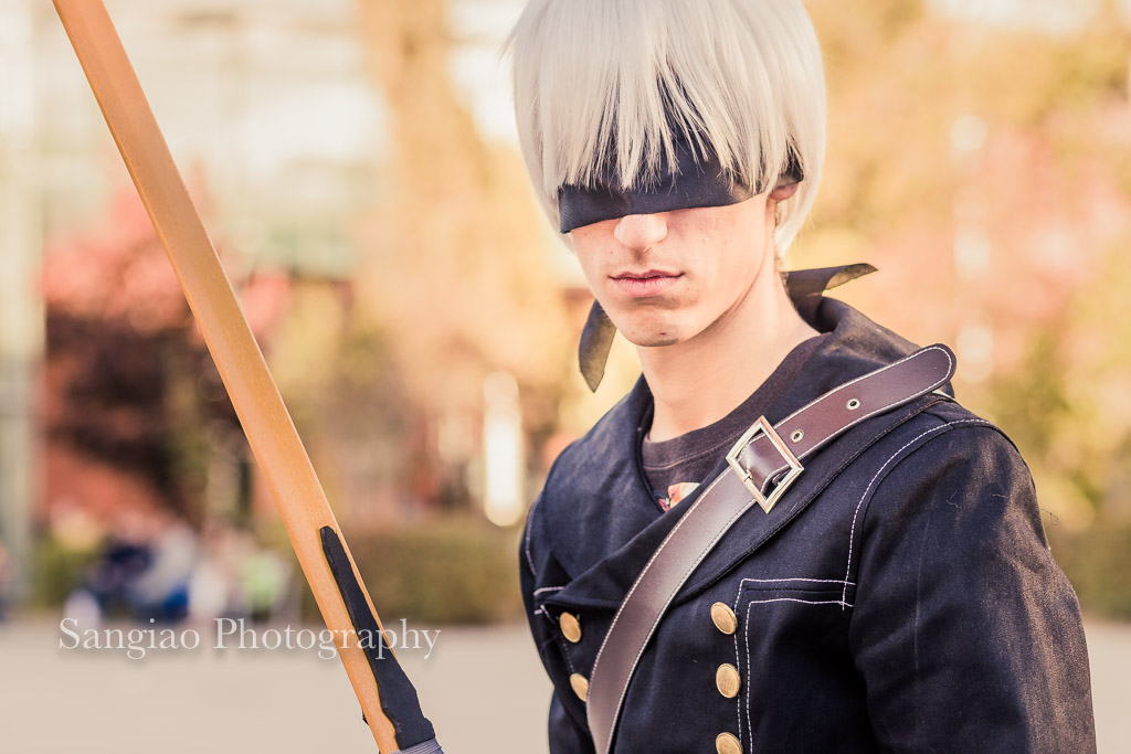 Nier Automata Cosplay comic con Madrid