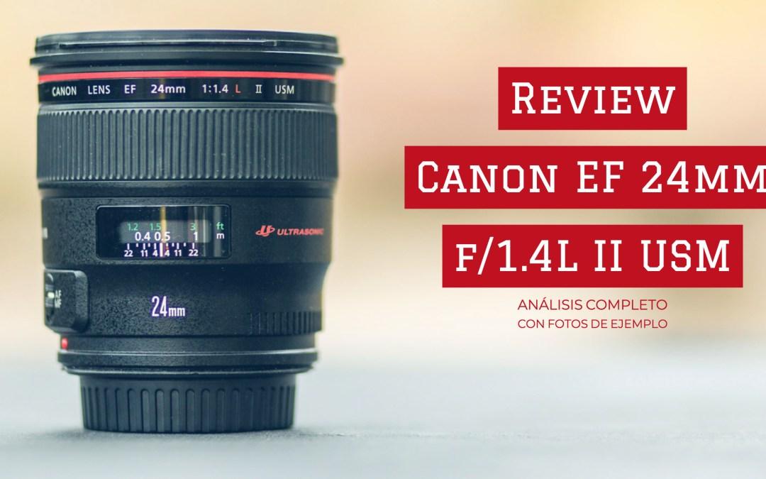 Review completo Canon EF 24 mm f/1.4L II USM   ¿El mejor objetivo para paisaje?