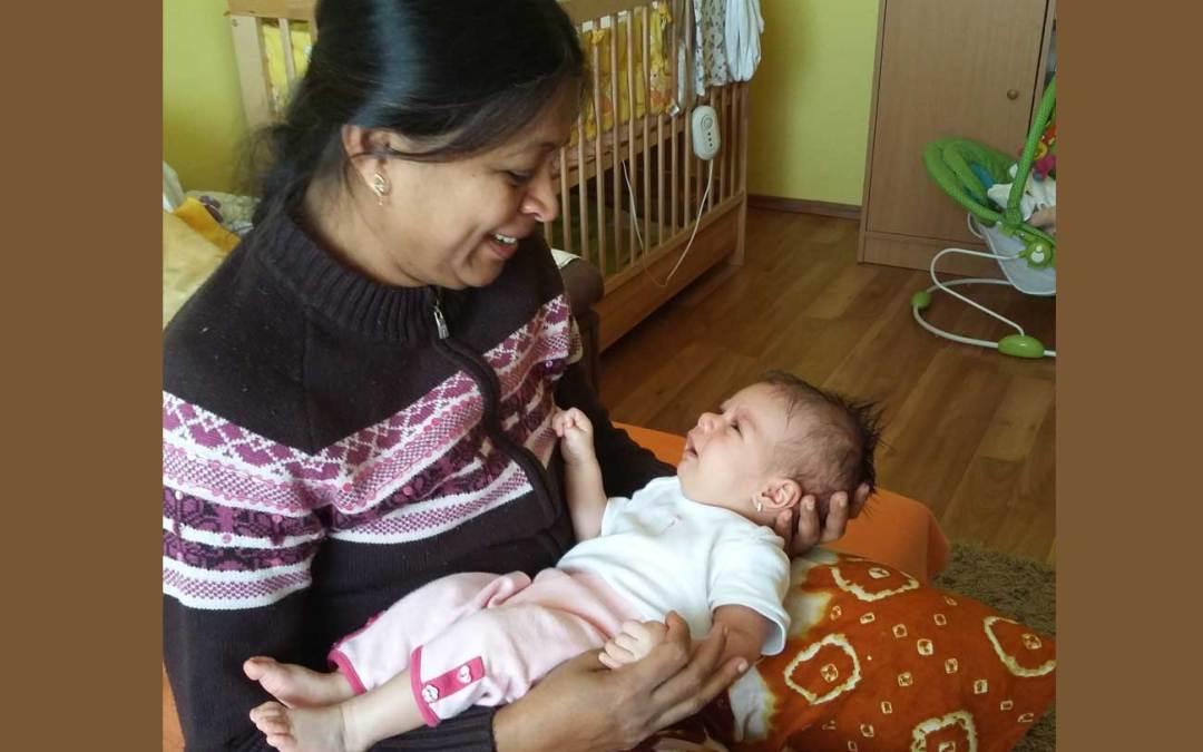 Miért kellene minden kismamának megtanulnia az indiai babamasszázst?