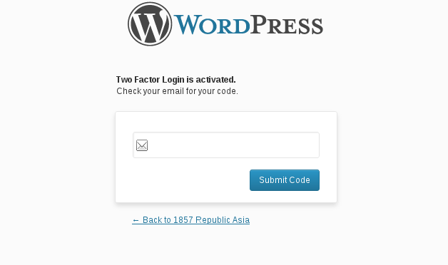 Boost Your WordPress Login Page Security With Two Factor Authentication