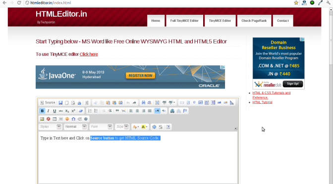 Online WYSIWYG HTML & HTML5 Editor For Generating HTML Code From Visually Created Content