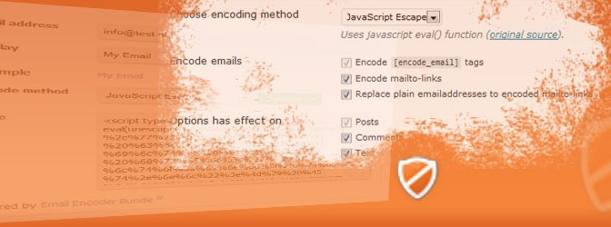 Automatically Encode Mailto & Plain Email Address Links And Hide Them From Spambots In Your WordPress Site