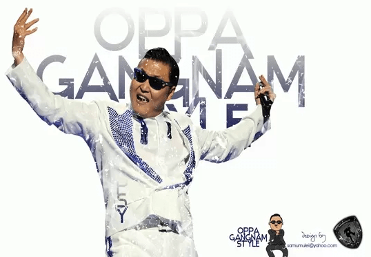 Gangnam Style Theme & Games For Google Chrome Users