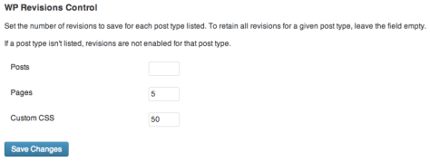 Revisions Control