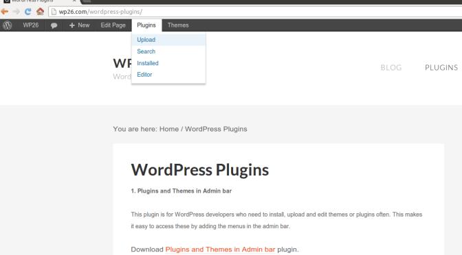 How To Add WordPress Theme & Plugin Menus In Admin Bar ?