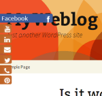 Easily Display Sliding Social Media Icons Akin To Theme Color Of Your WordPress Site