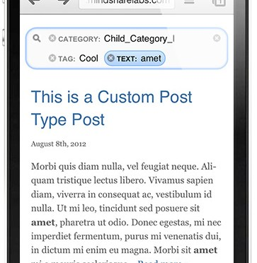 WordPress Ultimate Search With Powerful Faceted Autocomplete AJAX Search & Filter
