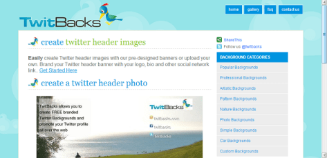 Twitter Header Generator 3