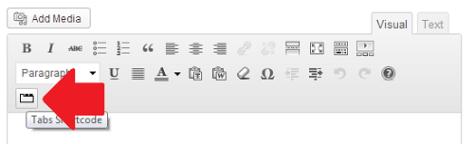 Responsive tab shortcode generator