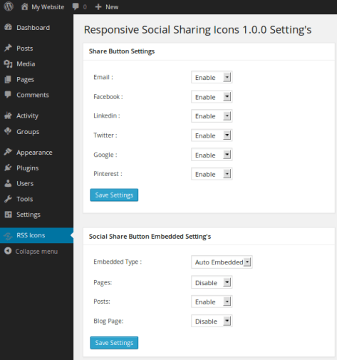 How To Add Responsive Social Sharing Buttons In WordPress? 2