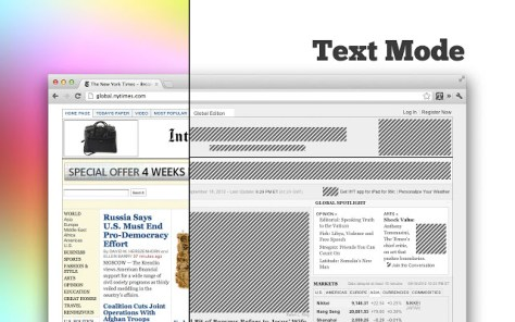 How To Browse Web In Text Mode Using Google Chrome? 1