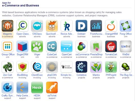 Installatron Applications Browser (1)